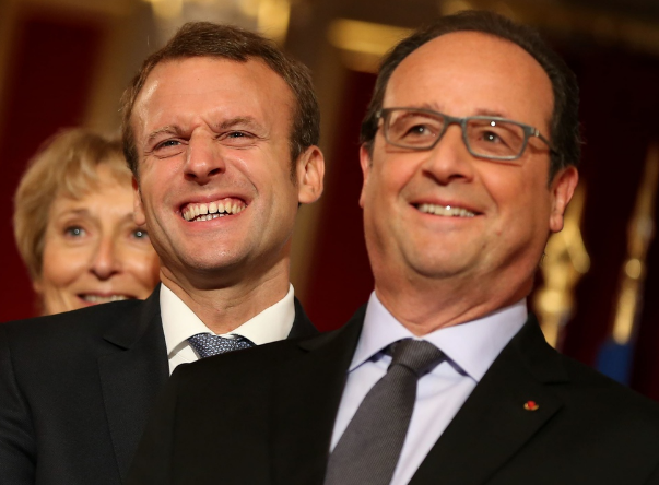 Hollande Macron Quelles relations ?
